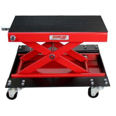 1100 lbs. W Motorcycle Scissor Jack with Dolly