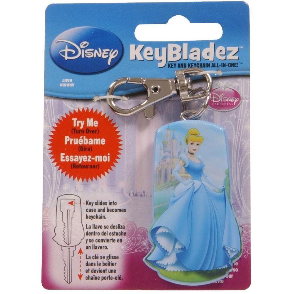 Hillman Key Bladez #66 Blank Princesses Key and Keychain All