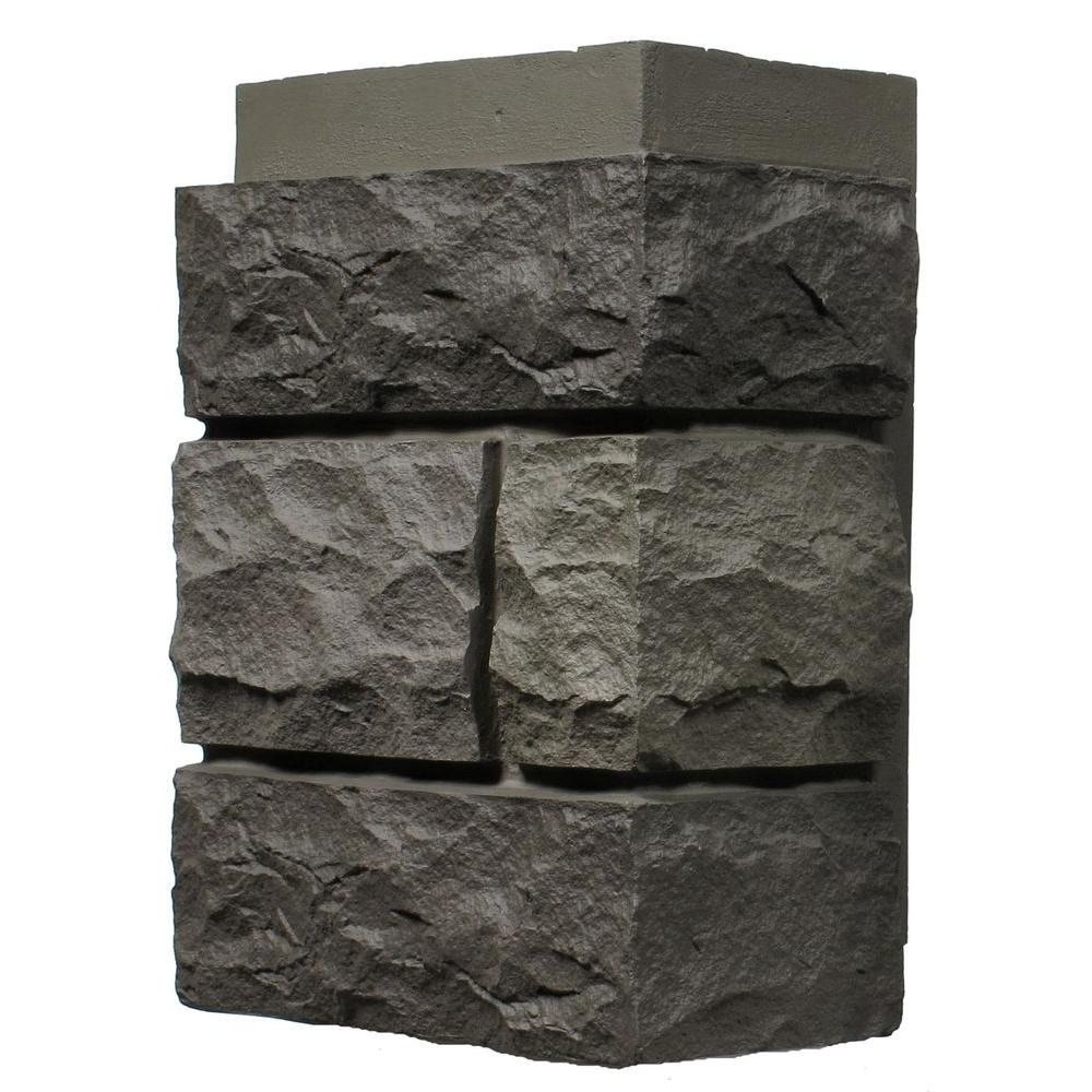 Random Rock Mountain Shadow 11 in. x 7 in. Faux Stone
