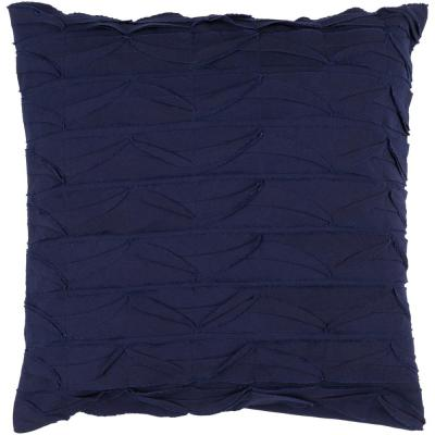 Emilion Purple Geometric Polyester 22 in. x 22 in. Throw Pillow