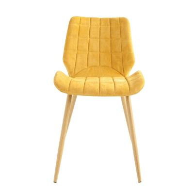 Mustard Yellow Upholstered Accent Chair