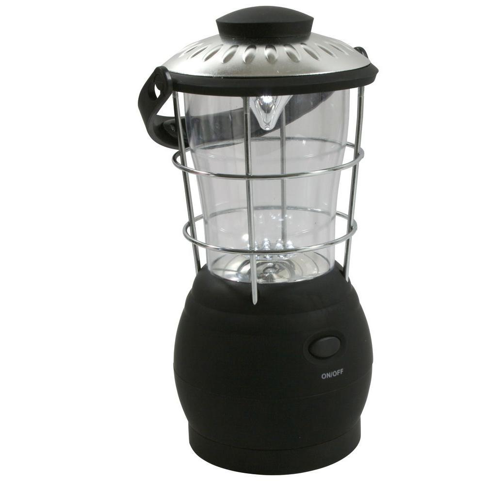 Buffalo Tools Hand Crank Powered Super-Bright LED Camping Lantern