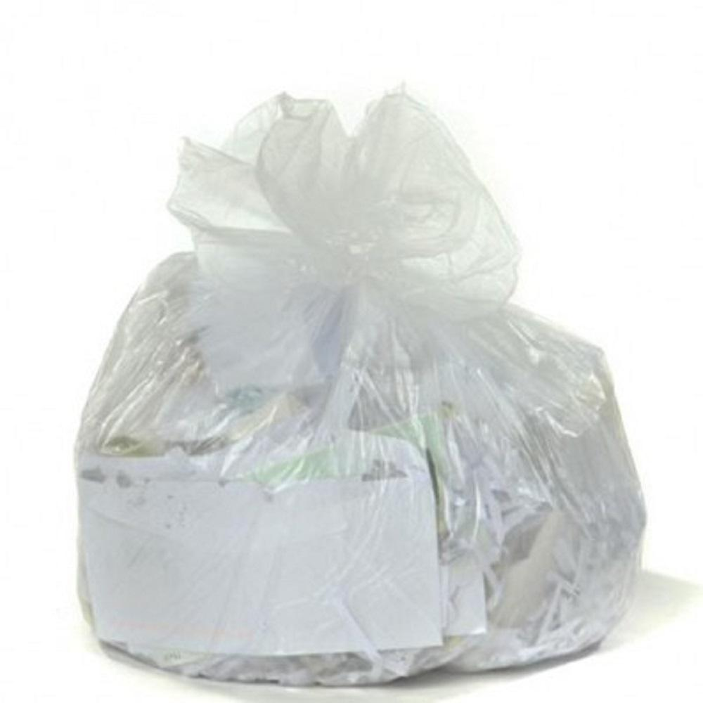 12-16 Gal. Clear High-Density Trash Bags (Case of 1000)