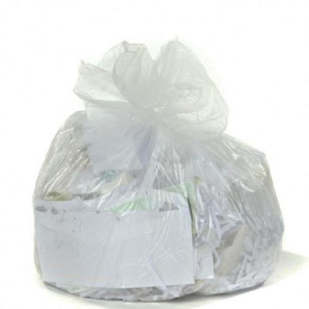 6 Gal. Clear High-Density Trash Bags (Case of 2000)