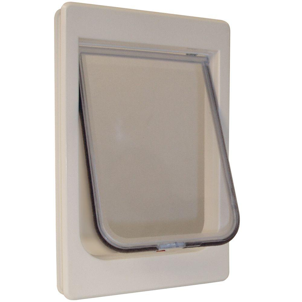 Large Chubby Kat Pet Door With Rigid