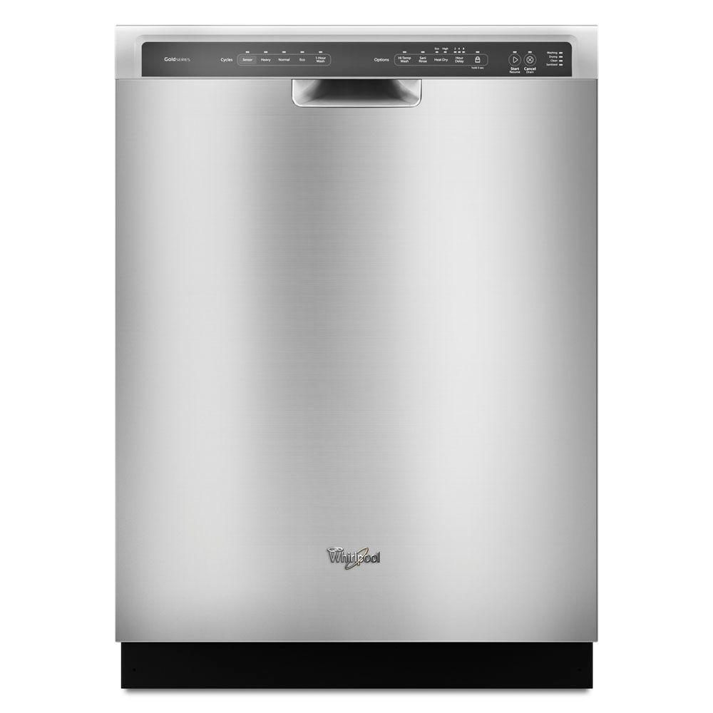 Whirlpool Front Control Built In Tall Tub Dishwasher In