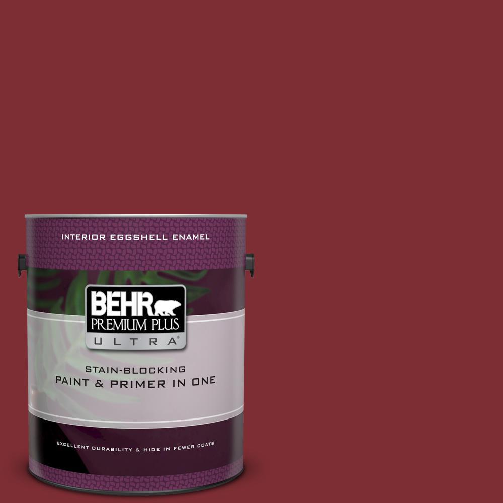 Ul110 2 Raw Cinnabar Eggshell Enamel Interior Paint And Primer In One