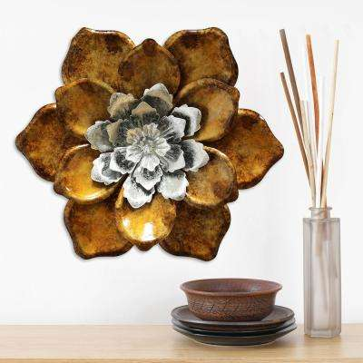 Stratton Home Decor Whimsical Flower Wall Decor