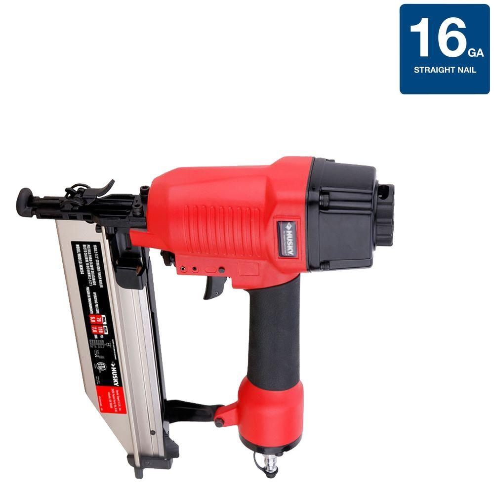 Husky 16-Gauge Class A Reconditioned Straight Finish Nailer-DISCONTINUED