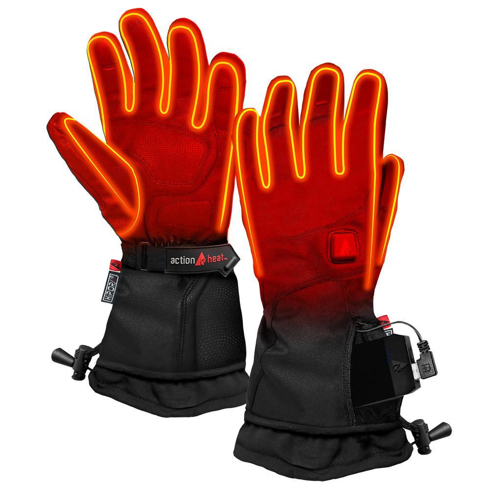Women's X-Large Black 5V Heated Premium Gloves