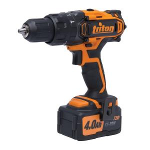 Triton 20-Volt Lithium-Ion 1/2 inch Cordless Compact Combo Hammer Drill by Triton