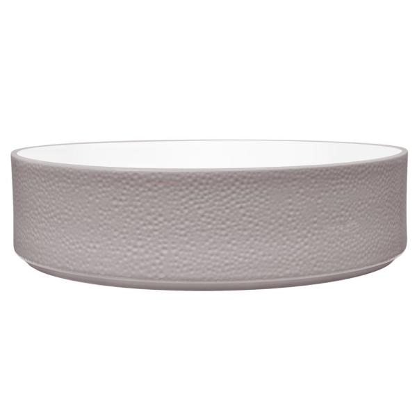 Colortex 67 oz. Stone Taupe Serving Bowl