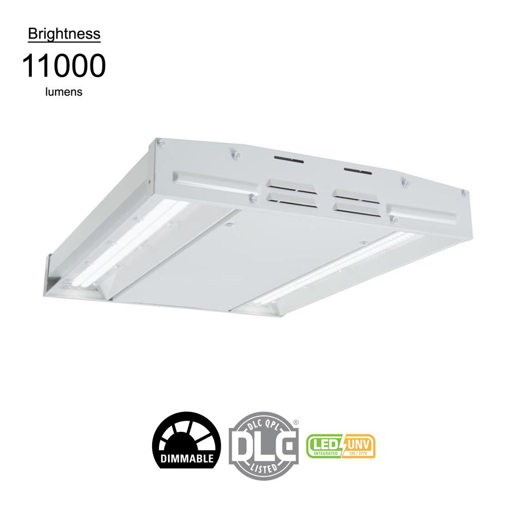 White Integrated Led High Bay Light 12 000