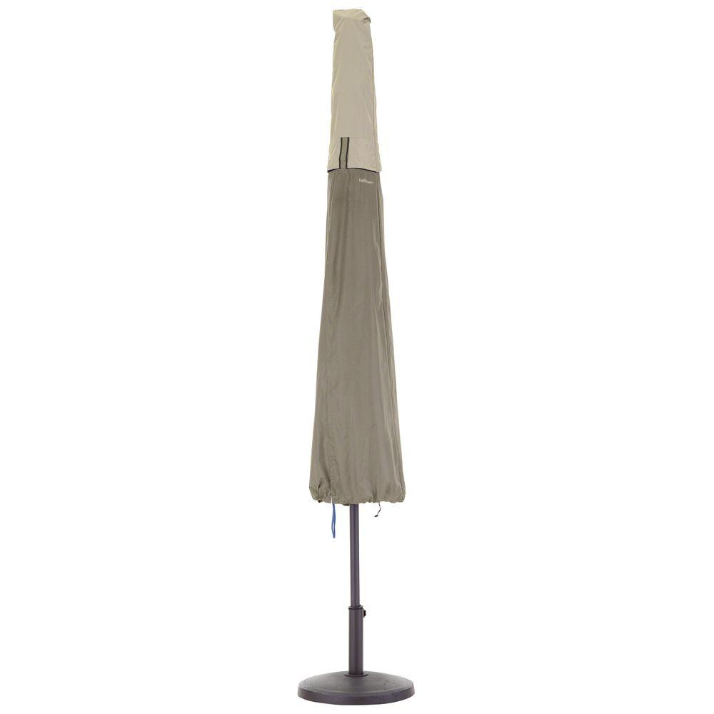 Classic Accessories Belltown Sidewalk Grey Patio Umbrella