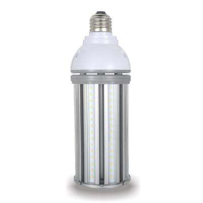 175-Watt Equivalent 45-Watt Corn Cob ED28 HID LED High Bay Bypass Light Bulb Med 120-277-Volt Cool White 4000K