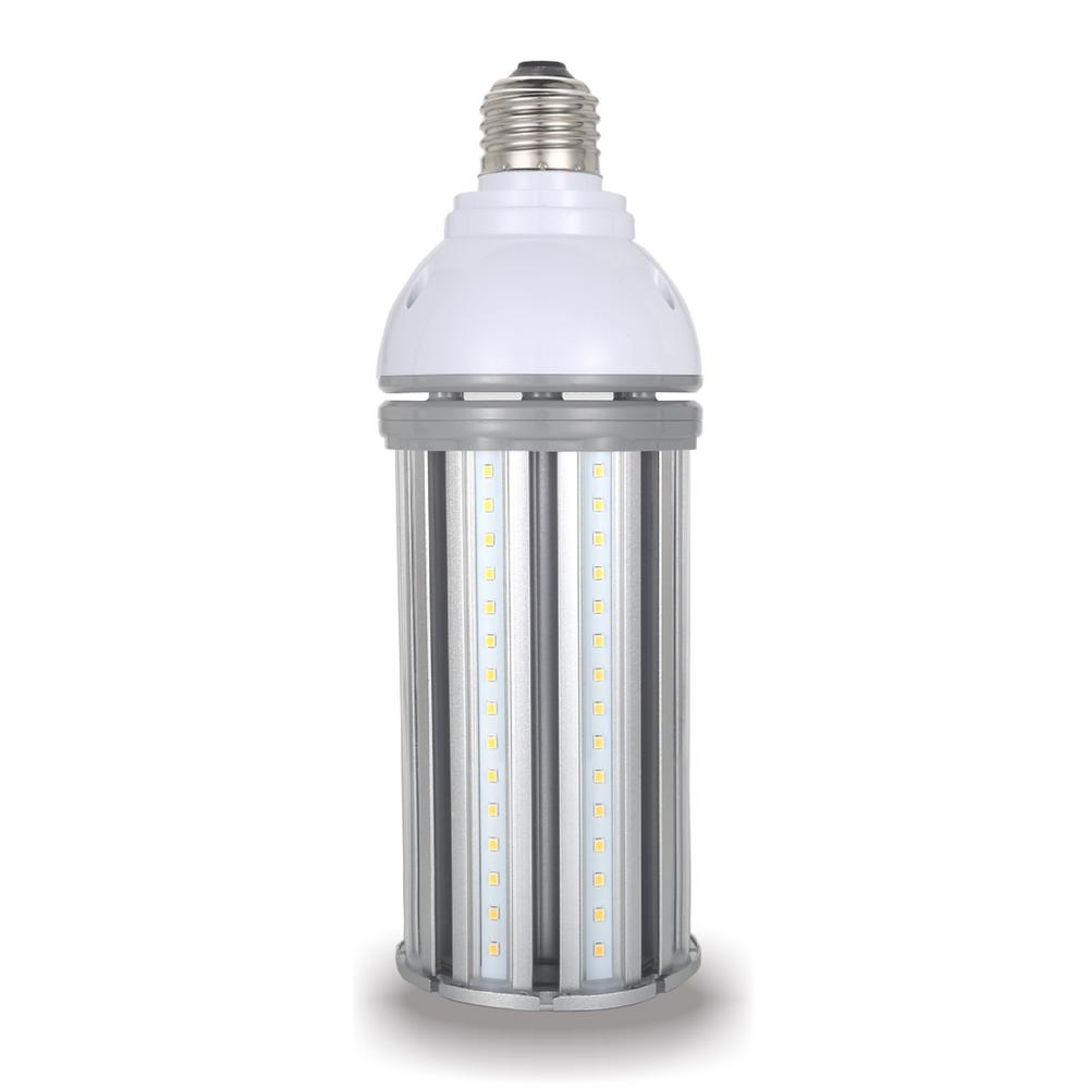Halco Lighting Technologies 175-Watt Equivalent 45-Watt Corn Cob ED28 HID LED High Bay Bypass Light Bulb Med 120-277-Volt Daylight 5000K