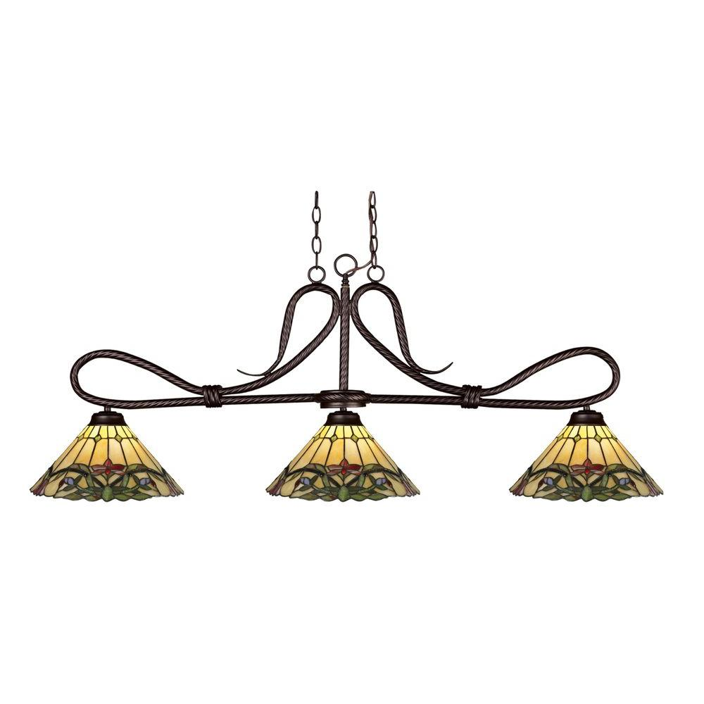 Filament Design Cape 3-Light Bronze Island Light