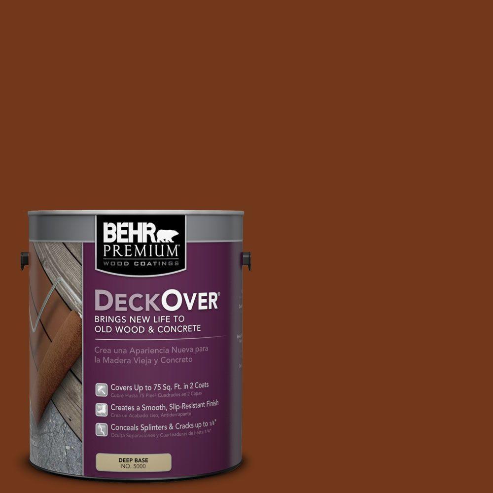 BEHR Premium DeckOver 1 Gal SC 130 California Rustic Solid Color Exterior Wood