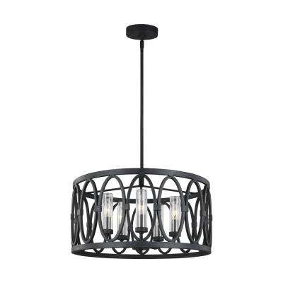 Wrought Iron Outdoor Hanging Lights Ceiling