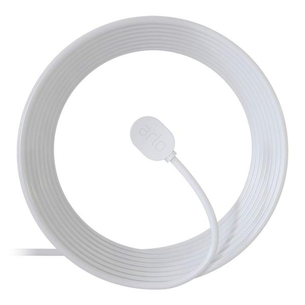 Outdoor Magnetic Charging Cable - White