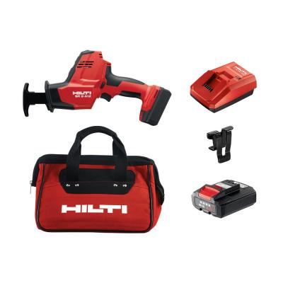 SR 2-A12 12-Volt Cordless Brushless Reciprocating Saw Kitwith 2 B12/4.0 Li-Ion Batteries, Charger, Belt Clip & Bag