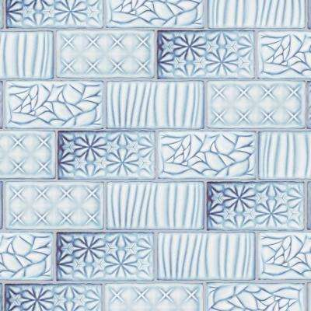 Antic Sensations Via Lactea 3 in. x 6 in. Ceramic Wall Subway Tile (1 sq. ft. / pack)