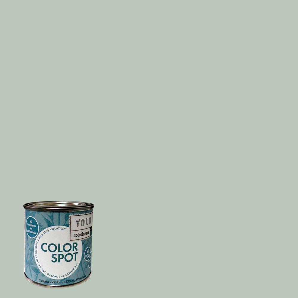 YOLO Colorhouse 8 oz. Water .02 ColorSpot Eggshell Interior Paint Sample-DISCONTINUED