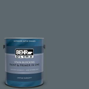 1 gal. #PPU25-20 Le Luxe Satin Enamel Interior Paint and Primer in One