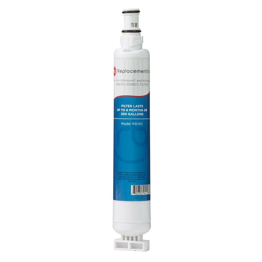 4396701 Comparable Refrigerator Water Filter-RB-W2 - The Home Depot