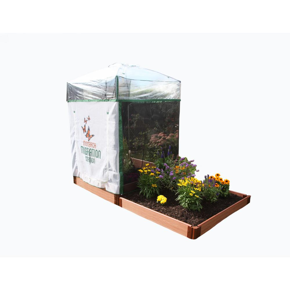 Monarch Migration Station 4 ft. x 4 ft. Pro Step Garden