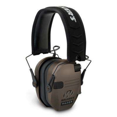 Razor Slim Hearing Protection and Sound Amplification Electronic Muff in Flat Dark Earth