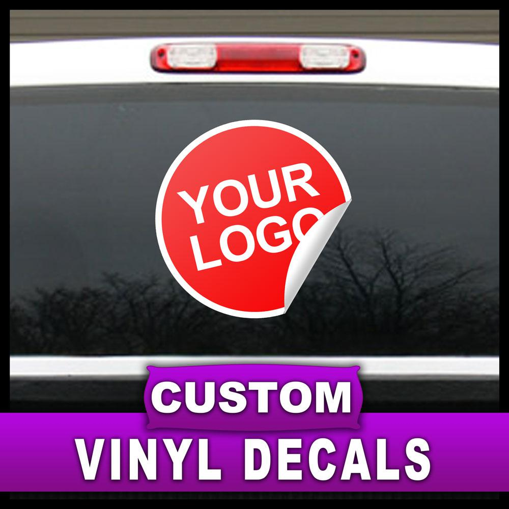 12 in. x 18 in. Custom Adhesive Vinyl Decal