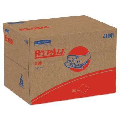 X80 Blue Wipers Brag Box (160-Box)
