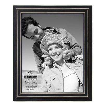 Stepped 1-Opening 8 in. x 10 in. Picture Frame