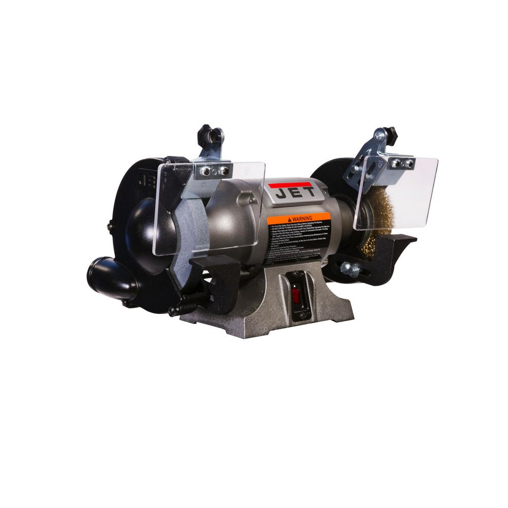 Miraculous Jet Jbg 6W 6 In Bench Grinder With Wire Wheel Ncnpc Chair Design For Home Ncnpcorg