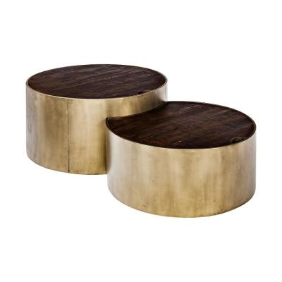 Eclipse Brown Coffee Table (Set of 2)
