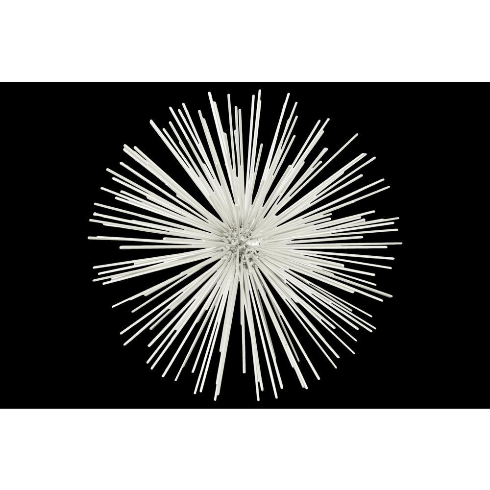 12.75 in. H Sculpture Decorative Sculpture in White Coated