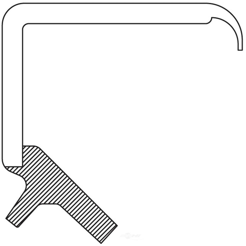 Engine Crankshaft Seal fits 1978-1986 Plymouth Sapporo Conquest Colt