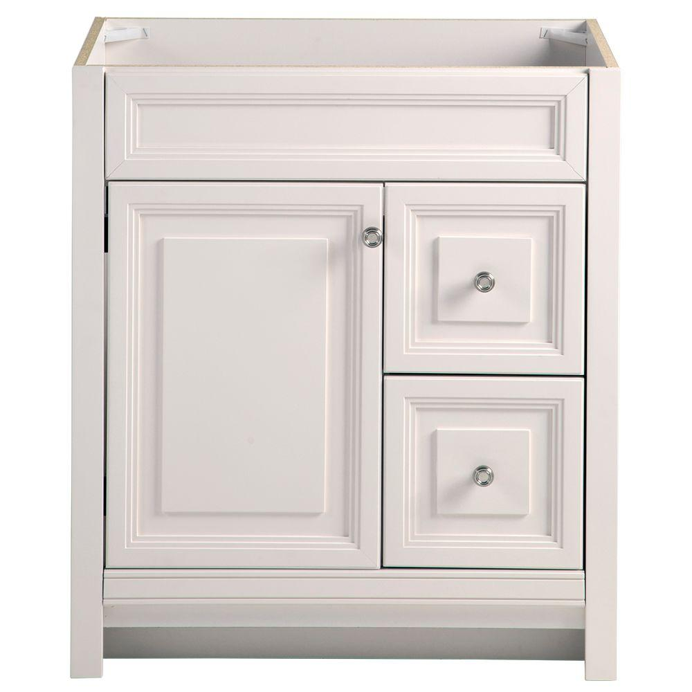 Home Decorators Collection Brinkhill 30 In W Bath Vanity Cabinet Only Cream