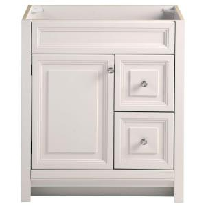 w bath vanity cabinet only in cream