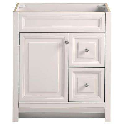 Brinkhill 30 in. W x 34 in. H x 21 in. D Bathroom Vanity Cabinet Only in Cream