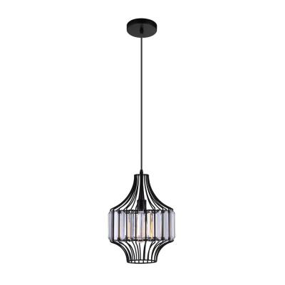 Alethia 1-Light Black Pendant