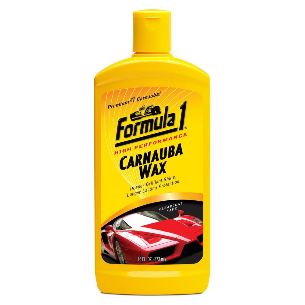 Formula 1 Liquid Wax