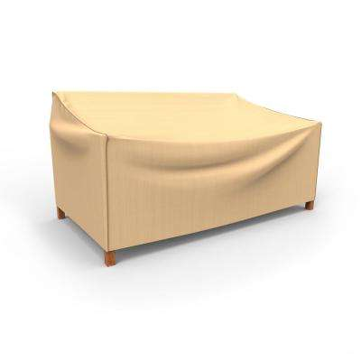 Rust-Oleum NeverWet Large Tan Outdoor Patio Loveseat Cover