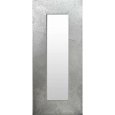 Strelley 47 in. x 21 in. Modern Framed Mirror