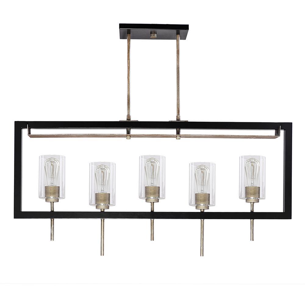 Filament Design 6-Light Chrome Island Pendant-CLI-FRT046246 - The