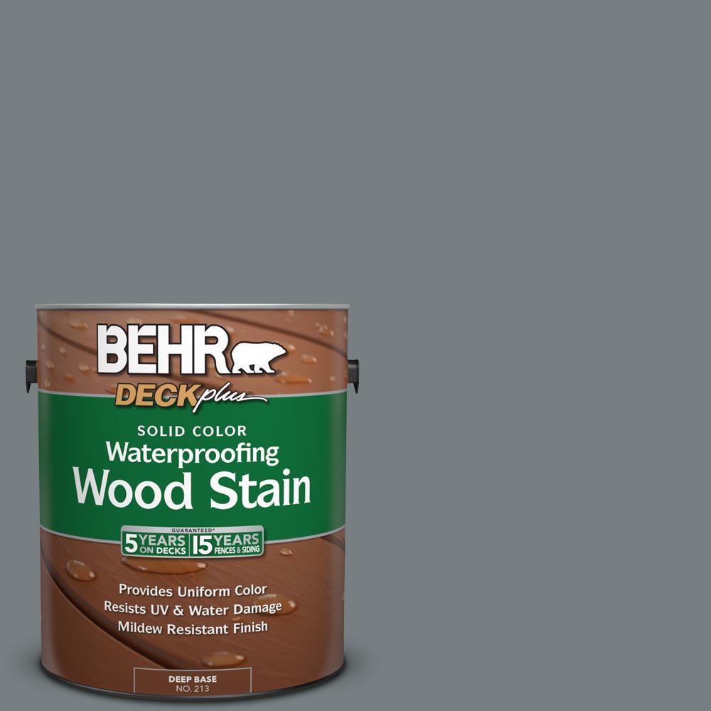 1 gal. #N450-5 Intergalactic Solid Color Waterproofing Wood Stain