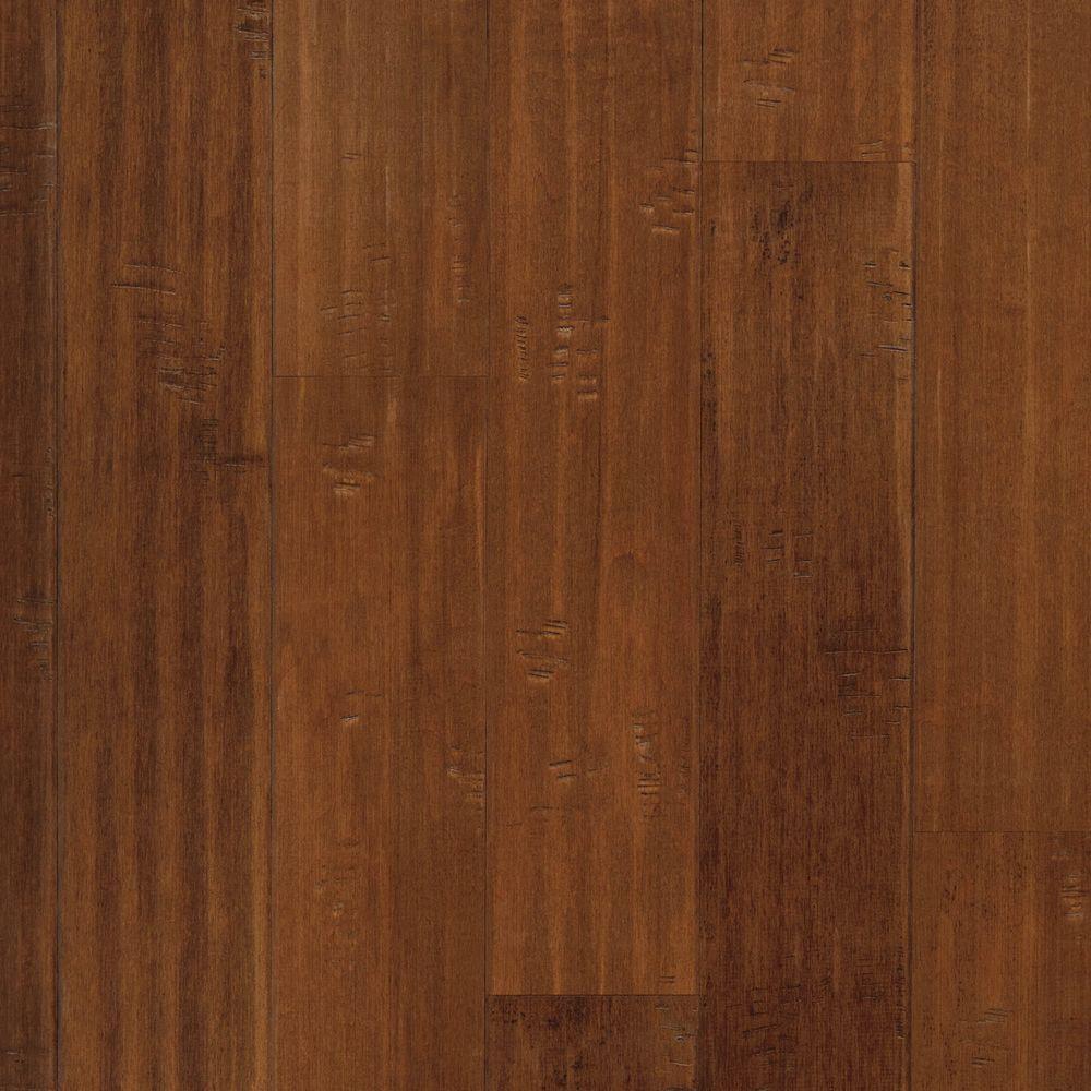 Maple Harvest Scrape 3/8 in. Thick x 5-1/4 in. Wide x Random Length Click Hardwood Flooring (22.5 sq. ft. / case)
