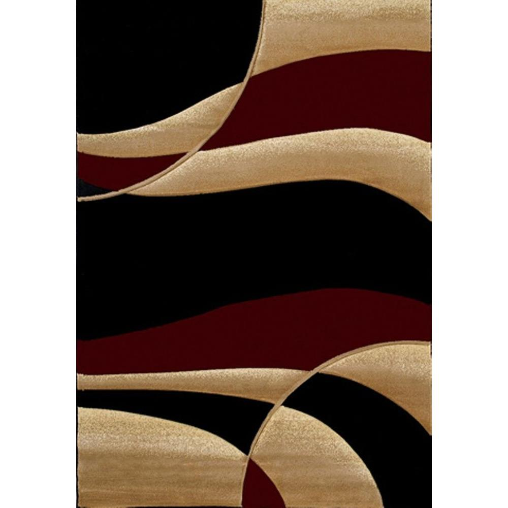 United Weavers Avalon Burgundy 5 Ft X 8 Area Rug