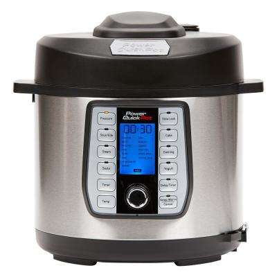 MultiCooker Quick Pot Pressure Cooker 6 Quart